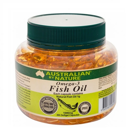 Australian by nature omega 3 fish oil capsules natonic for Fish oil substitute