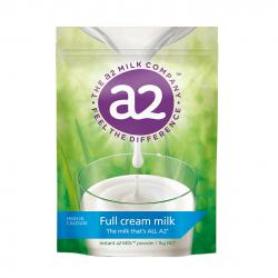 澳洲A2成人全脂奶粉 独特a2 β-酪蛋白 儿童学生成中老年1KG
