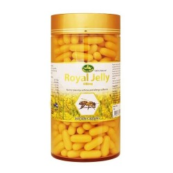Nature's King-Royal Jelly 1000mg 365 Capsules