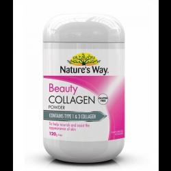 Nature's Way 胶原蛋白粉原味120g营养女士美白保湿抗皱