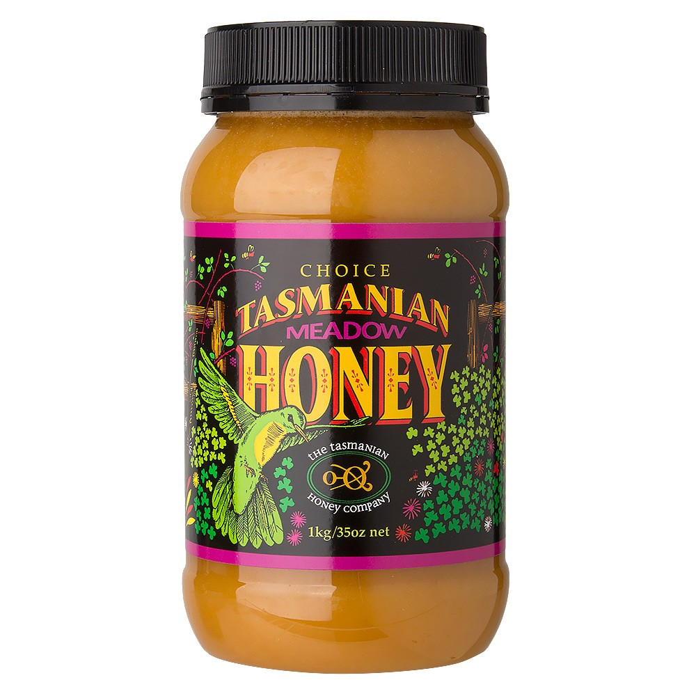 Tasmanian Honey-Meadow Honey (Plastic) 1kg