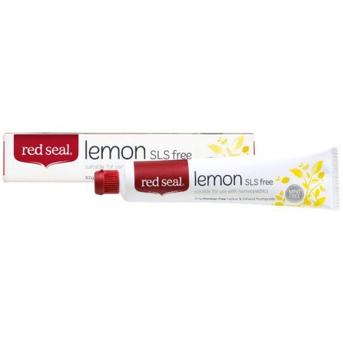 Red Seal-Lemon SLS Free Toothpaste 100g