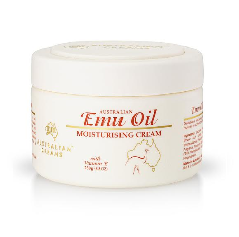 G&M-Australian Emu Oil Vital Moisturising Cream with Vitamin E 250g