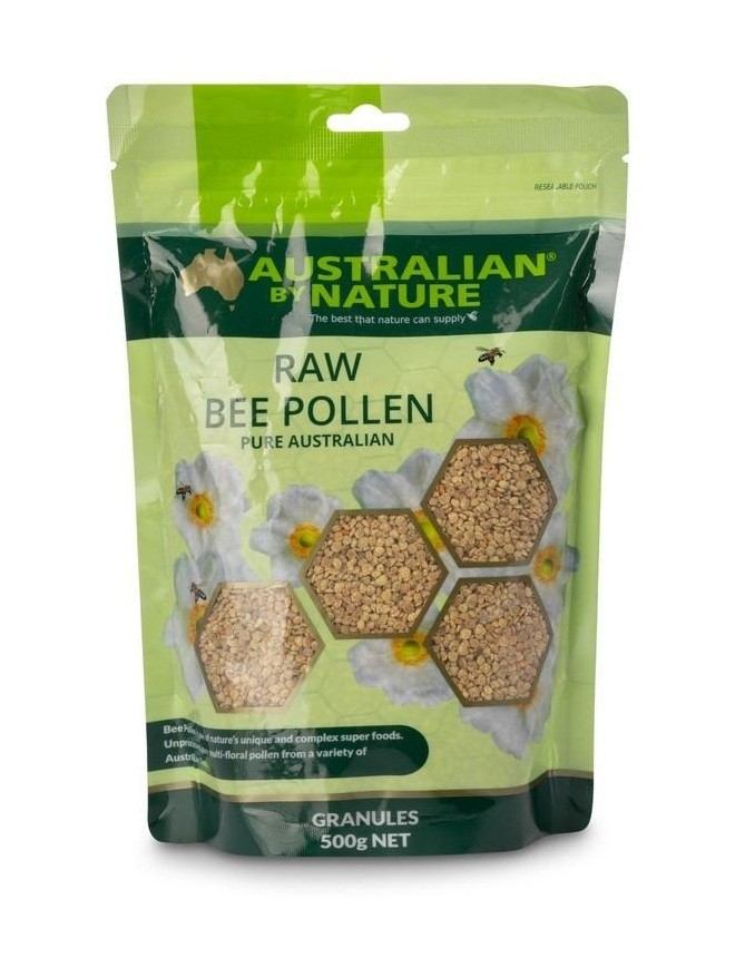 Australian by Nature-Raw Bee Pollen Granules 500g