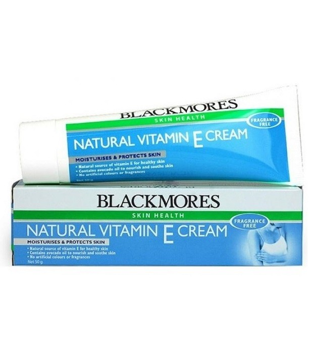 Blackmores Natural Vitamin E Cream 50g Natonic