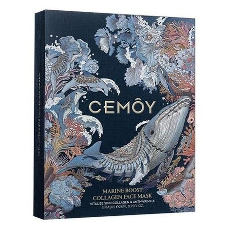 CEMOY - Marine Boost Collagen Face Mask 28ml x 5 Sheets