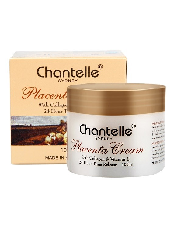 Chantelle Sydney-Lanolin Cream with Grape Seed Oil & Vitamin E 100ml