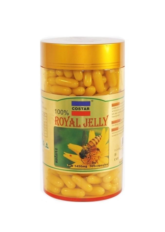 Costar-Royal Jelly 1450mg 365 Capsules