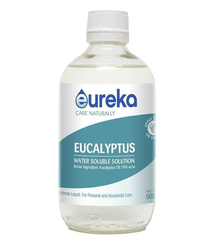 Eureka-Eucalyptus Water Soluble Solution 500ml