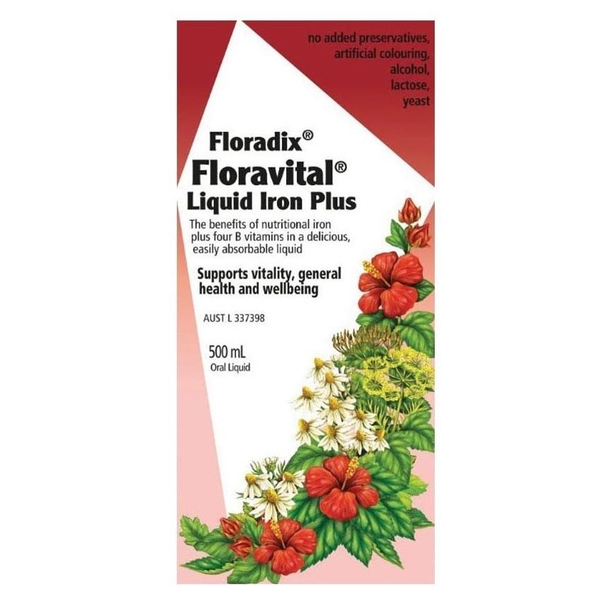 Floradix-Iron Liquid Herbal Extract 500ml