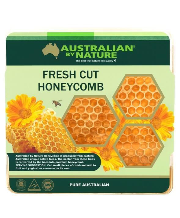 Australian by Nature-Fresh Cut Honey Comb Box 500g