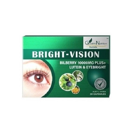 Goodlife Nutrition-Bright Vision 10000mg 30 Capsules