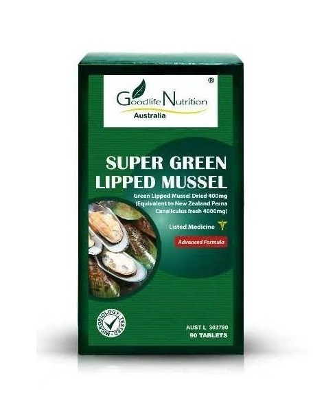 Goodlife Nutrition-Super Green Lipped Mussel