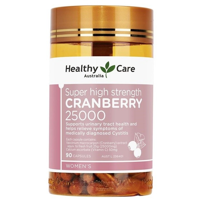 Healthy Care-Super High Strength Cranberry 25000mg 90 Capsules