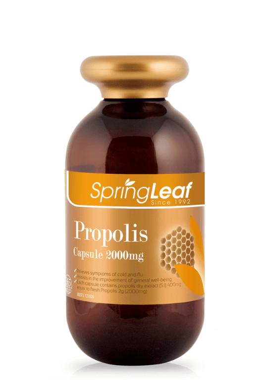 Springleaf-Propolis Capsule 2000mg 365 Capsules