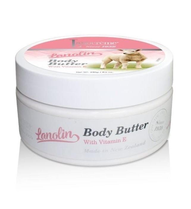 Lanocreme-Lanolin Body Butter With Vitamin E