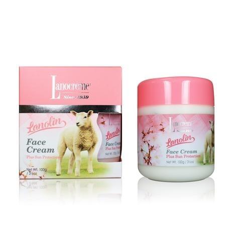 Lanocreme-Lanolin Face Cream Plus Sun Protection