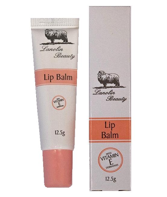 Lanolin Beauty-Lip Balm with Vitamin E