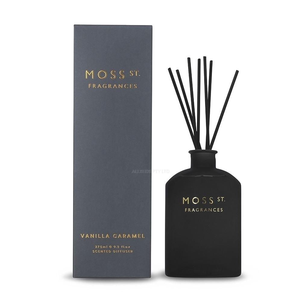 Moss St. Fragrances-Vanilla Caramel Scented Diffuser 275ml