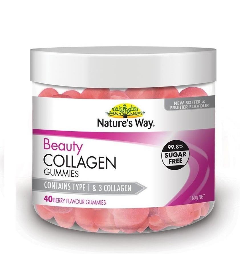 Nature's Way-Beauty Collagen 40 Berry Gummies
