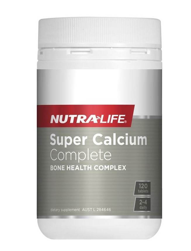 Nutralife-Super Calcium Complete 120 Caps