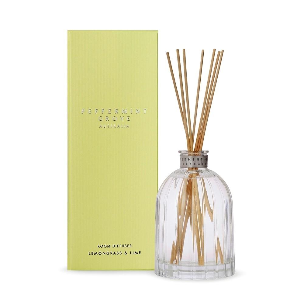Peppermint Grove-Lemongrass & Lime Room Diffuser 350ml