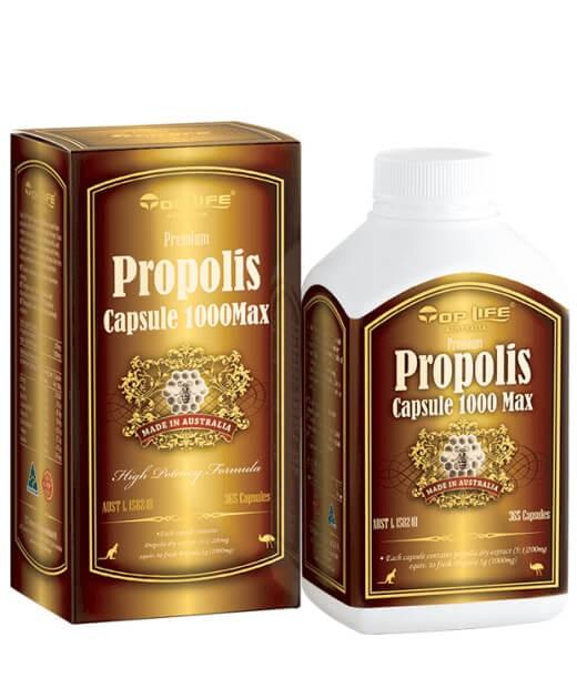Toplife-Propolis Capsule 1000mg Max 365 Capsules