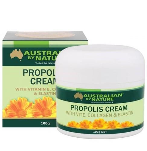Australian by nature-Propolis cream with vitamin E, collagen & elastin 100g