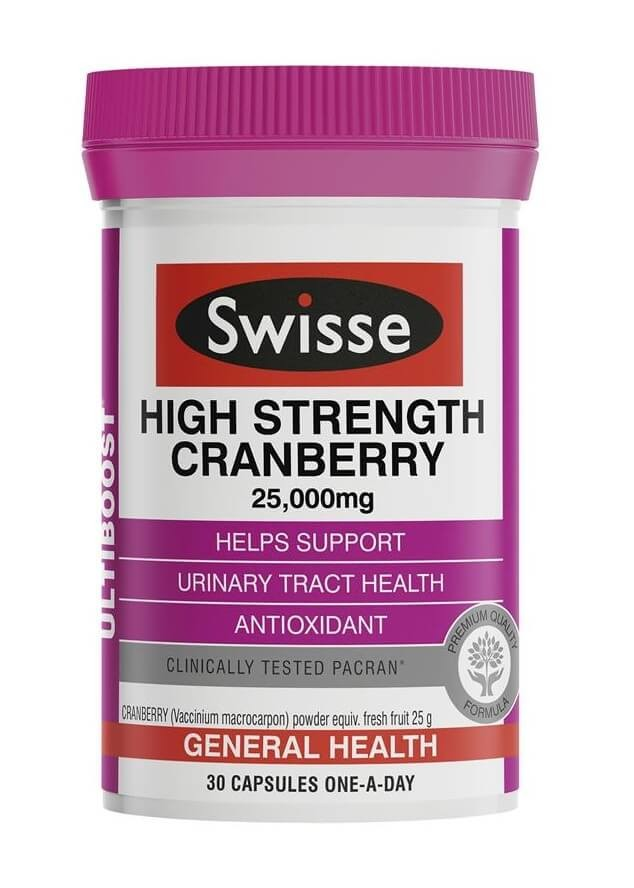 Swisse-High Strength Cranberry 30 Capsules