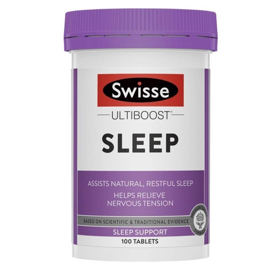 Swisse-Sleep 100 Tablets Licorice Extract Wishlist Swisse-Sleep 100 Tablets