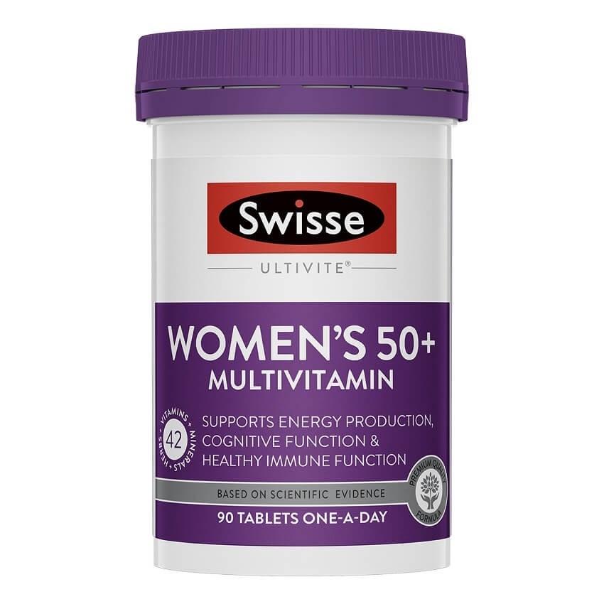 Swisse-Women's Ultivite 50+ 90 Tablets