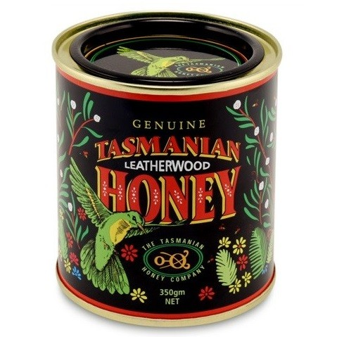 Tasmanian Honey-Leatherwood Honey (Tin) 350g