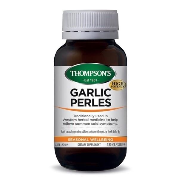 Thompson's-Garlic Perles 180 Capsules