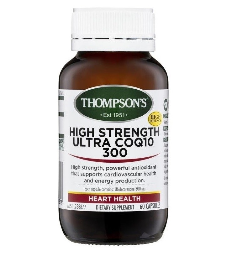 Thompson's-High Strength Ultra CoQ10 300 60 Capsules