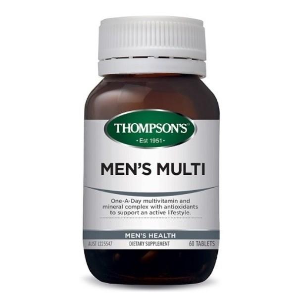 Thompson's-Men's Multi 60 Tablets