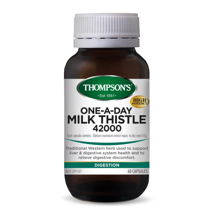Thompson's-One-A-Day Milk Thistle 42000mg 60 Capsules