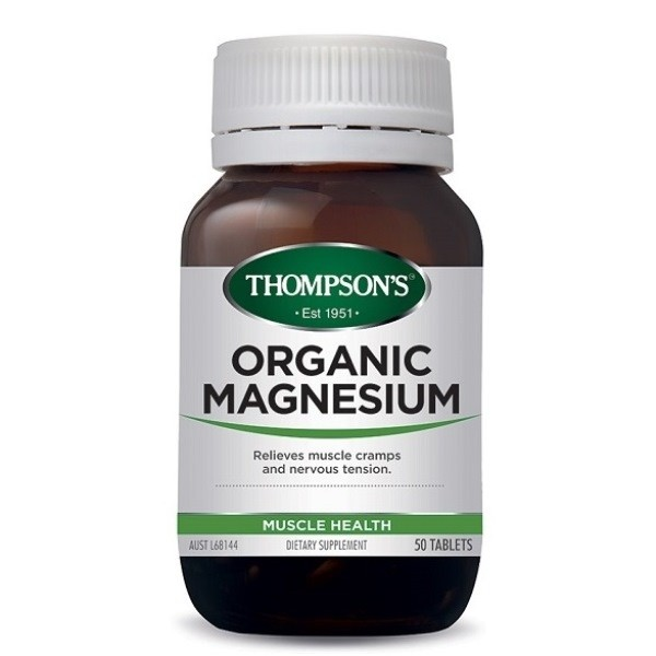 Thompson's-Organic Magnesium 50 Tablets