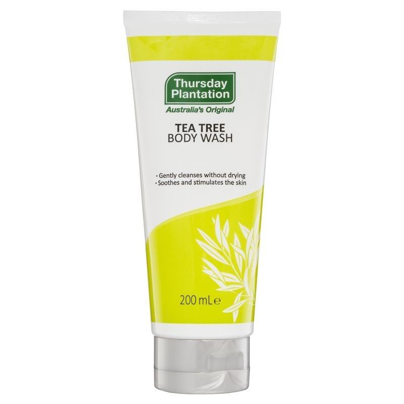 Thursday Plantation-Tea Tree Body Wash 200ml Organic