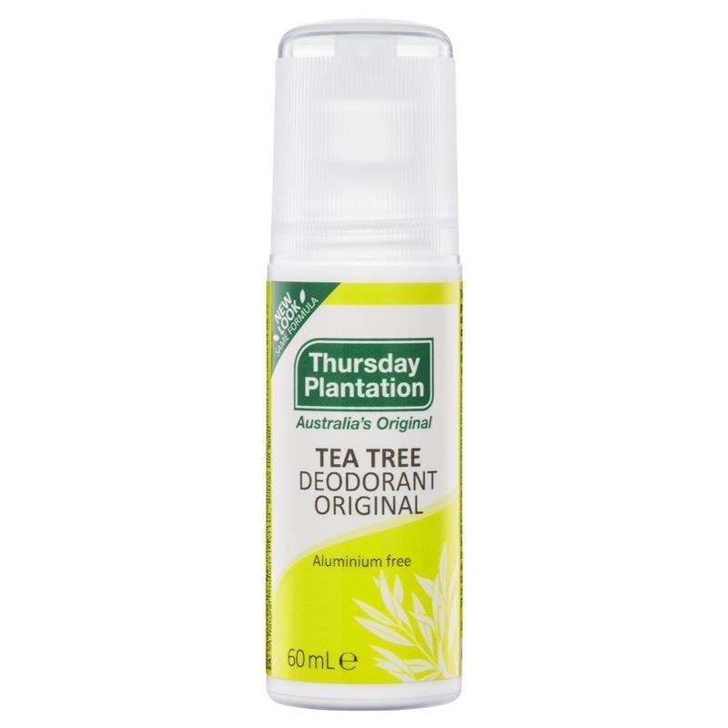 Thursday Plantation-Tea Tree Organic Deodorant 60ml