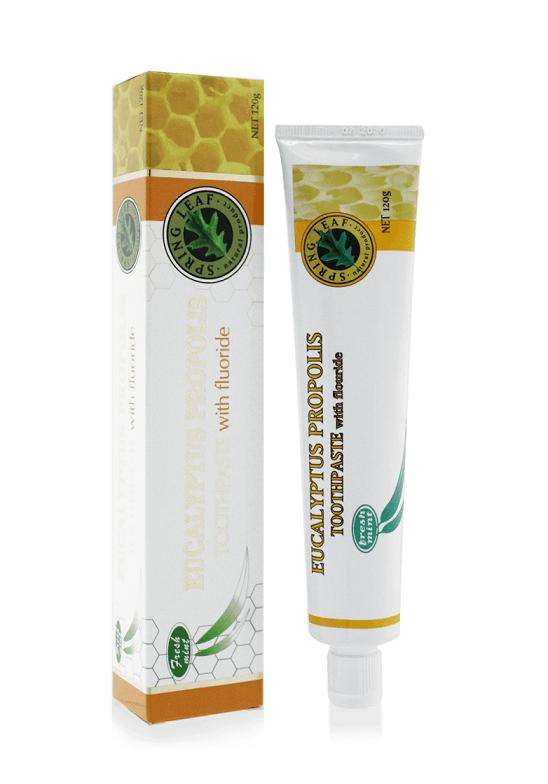 Springleaf-Eucalyptus Propolis Toothpaste with Fluoride 120g (