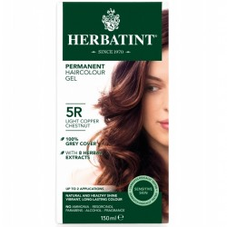 Herbatint-Permanent Haircolour Gel 5R Light Copper Chestnut 150ml