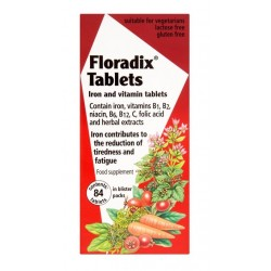 Floradix-Iron and Vitamin Tablets 84 Tablets