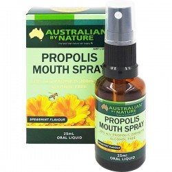 Australian by Nature-Propolis Mouth Spray 25mL Bottle With Atomiser Spray