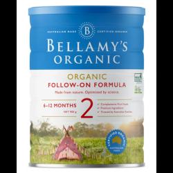 Bellamy-Step 2 Organic Follow On Formula 900g