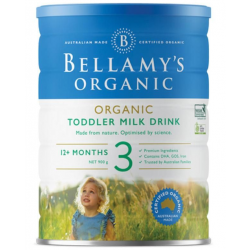 Bellamy-Step 3 Organic Toddler Milk Drink 900g