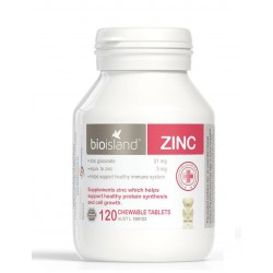 Bio Island - Zinc 120 Chewable Tablets