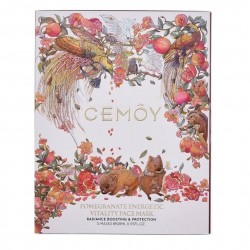 Cemoy-Pomegranate Energetic Vitality Face Mask 28ml x 5 Sheets