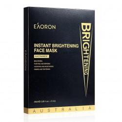Eaoron-Instant Brightening Black Face Mask 5x25g