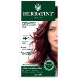 Herbatint-Permanent Haircolour Gel FF1 Henna Red 150ml