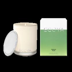 Ecoya-French Pear Soy Wax Fragranced Candle 400g